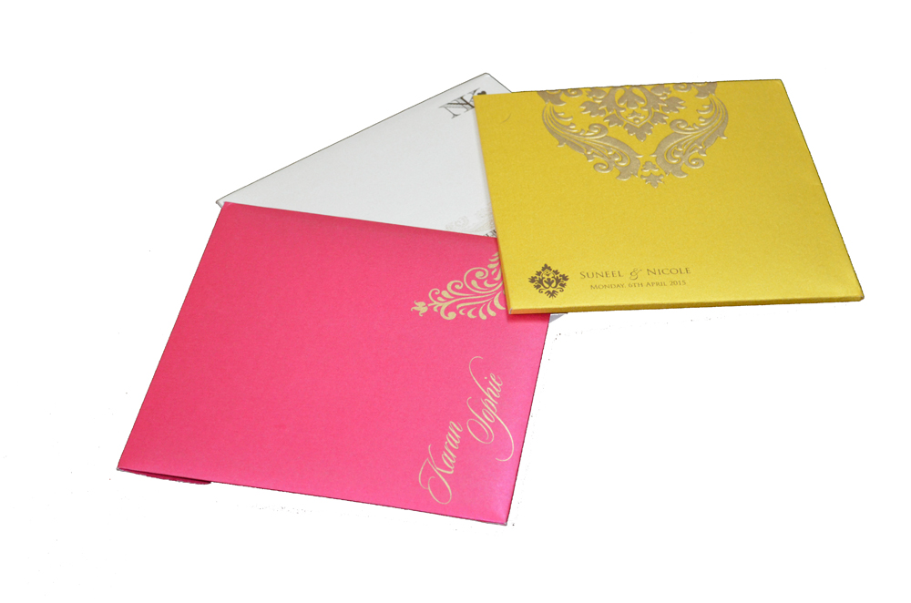 Order 3 Wedding Card Samples Online