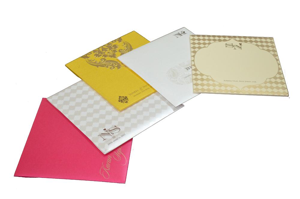 Order 5 Wedding Card Samples Online