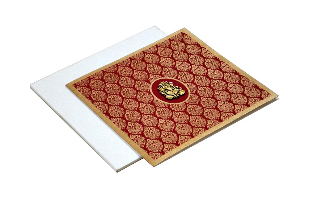 Hindu Wedding Card AC 211