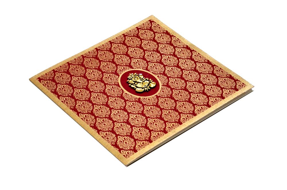 Hindu Wedding Card AC 211 Card