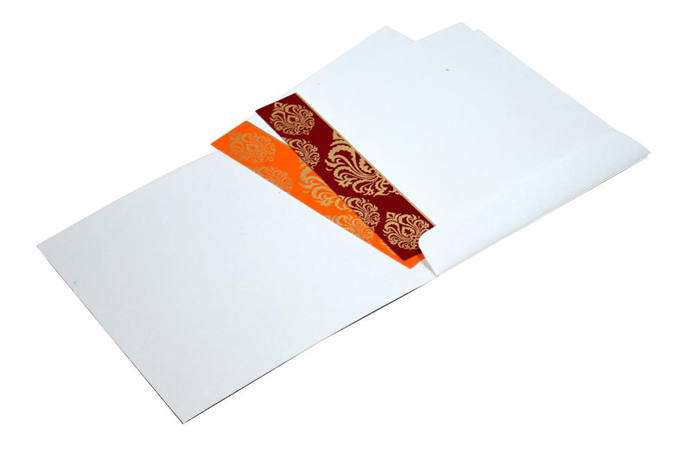 Hindu Wedding Card AC 211 Inside View
