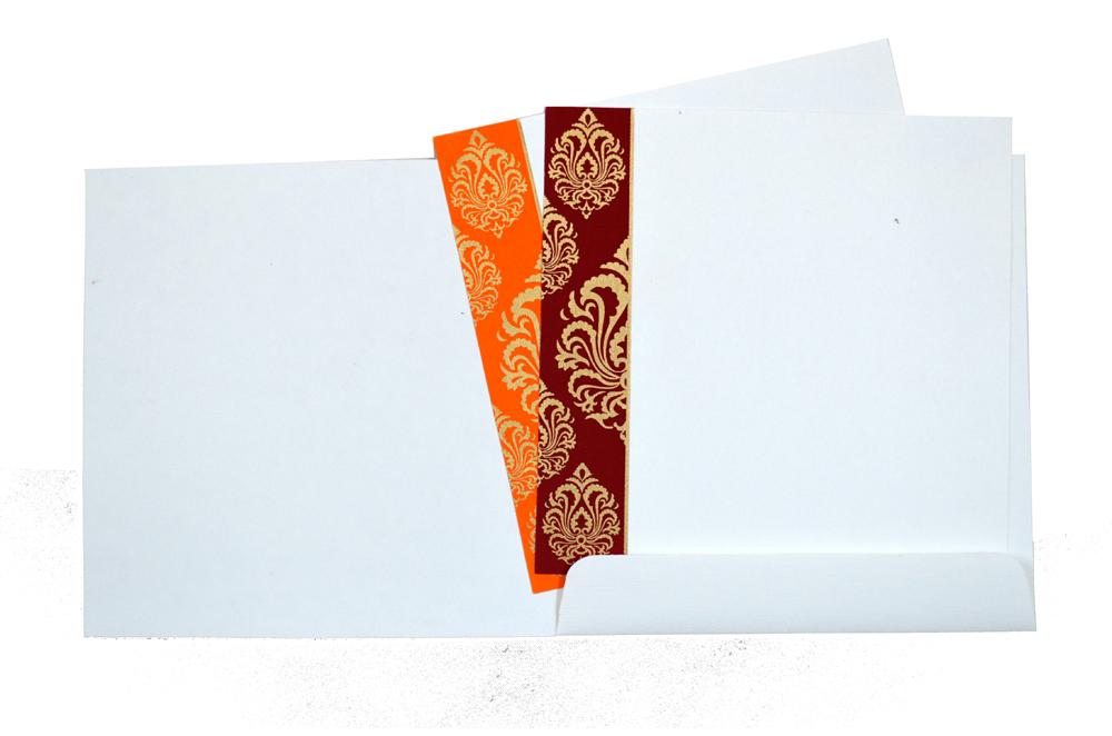 Hindu Wedding Card AC 211 Top Inside View