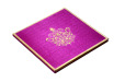 Satin Cloth Wedding Card AC 243 Card
