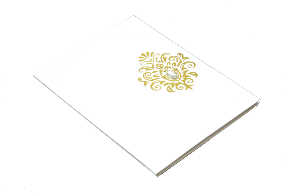 Padded Wedding Card AC 260 Card