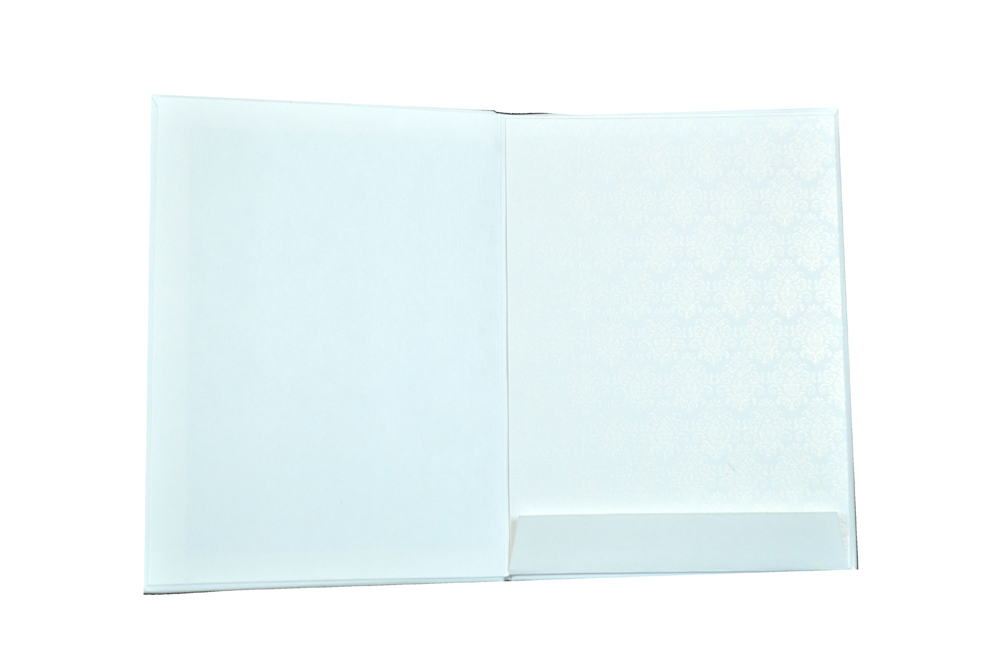 Padded Wedding Card AC 260 Top Inside View