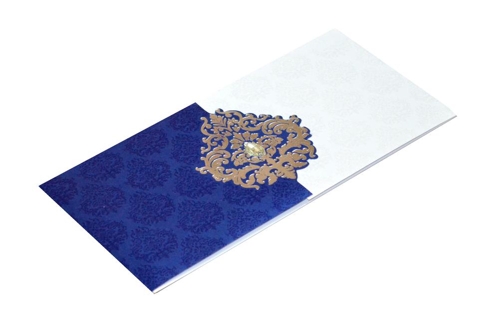 Light Weight Wedding Card AC 284 Card
