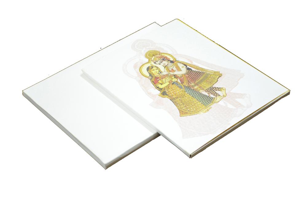 Radha Krishna Theme Card AC 329