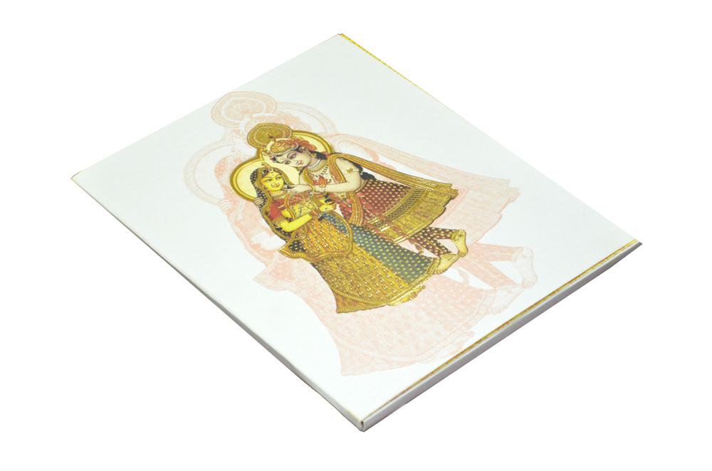 Radha Krishna Theme Card AC 329 Card