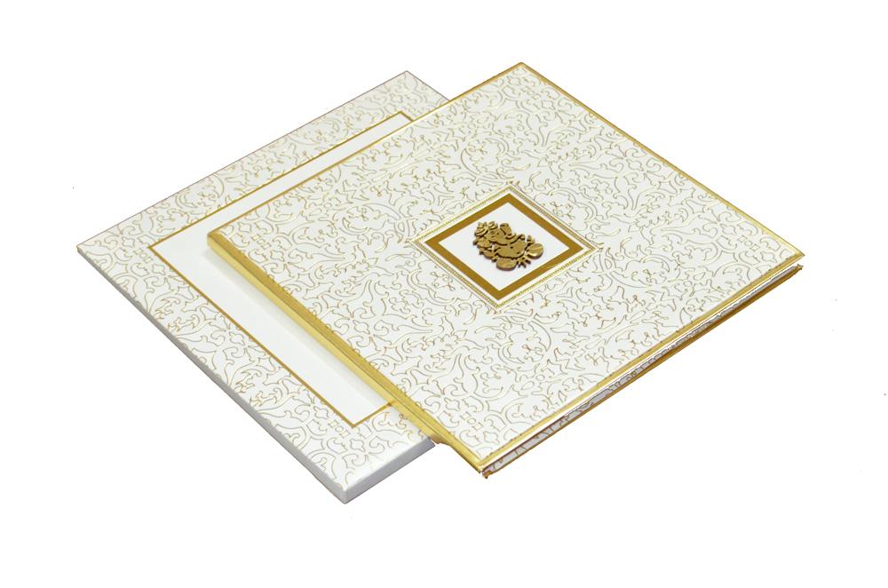 Padded Wedding Card AC 338