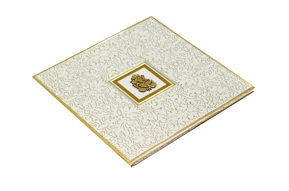 Padded Wedding Card AC 338 Card