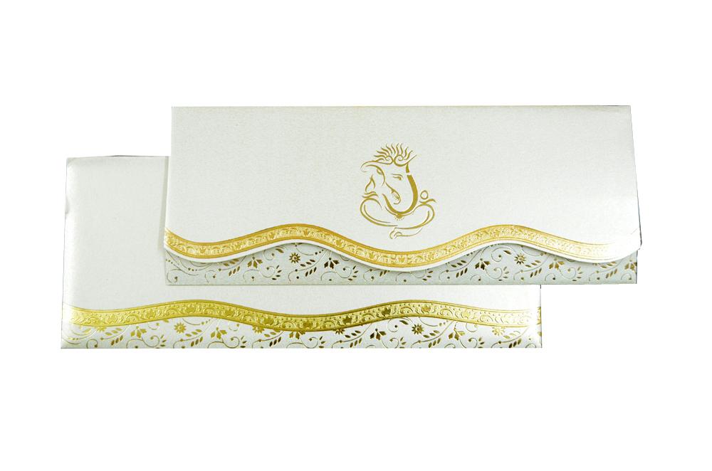 Hindu Wedding Card PP 3019 Top View