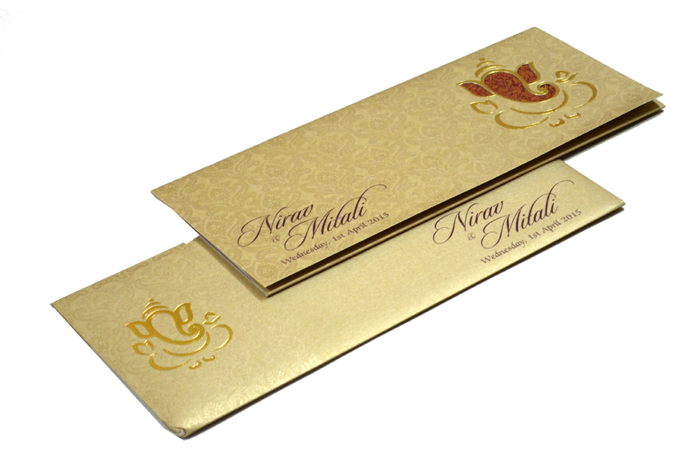 Hindu Wedding Card PP 4510