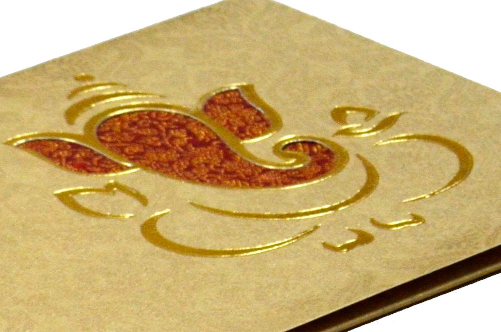 Hindu Wedding Card PP 4510 Zoom View