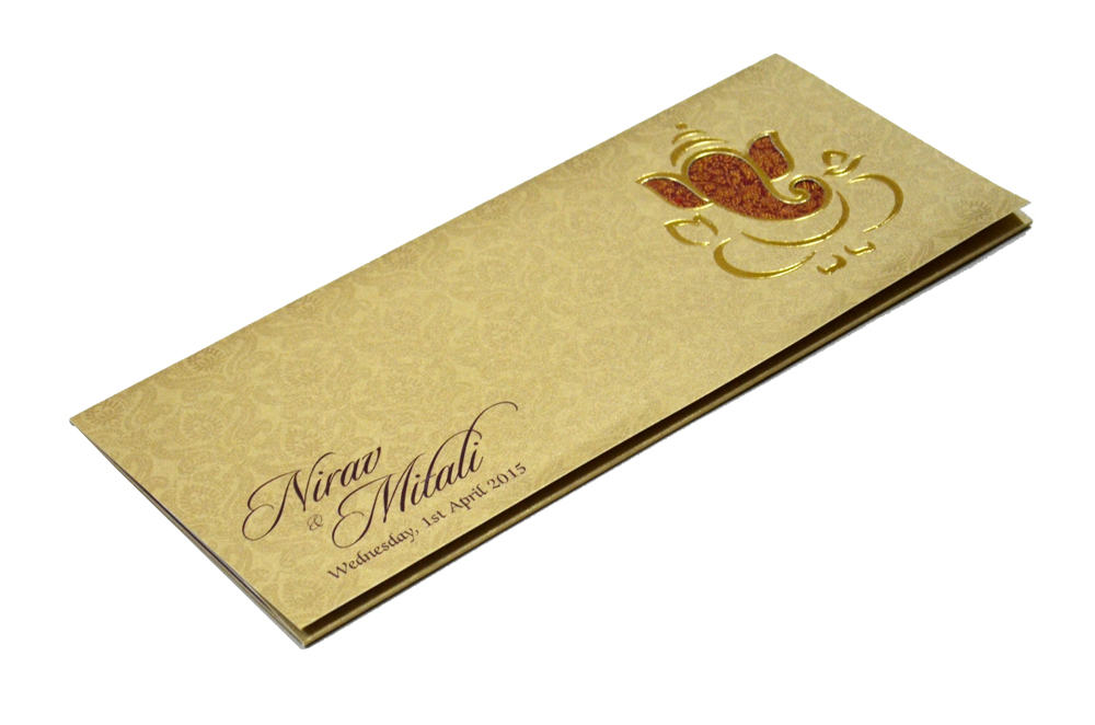 Hindu Wedding Card PP 4510 Card
