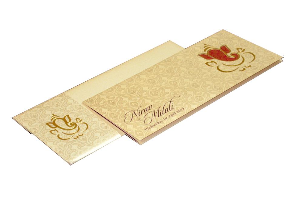 Hindu Wedding Card PP 6056