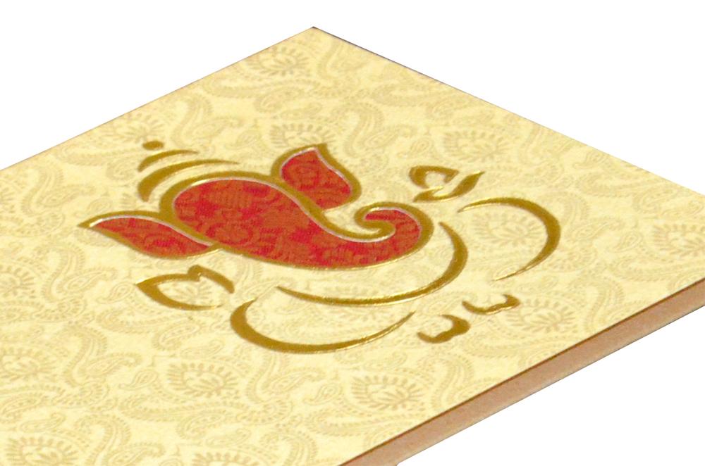 Hindu Wedding Card PP 6056 Zoom View