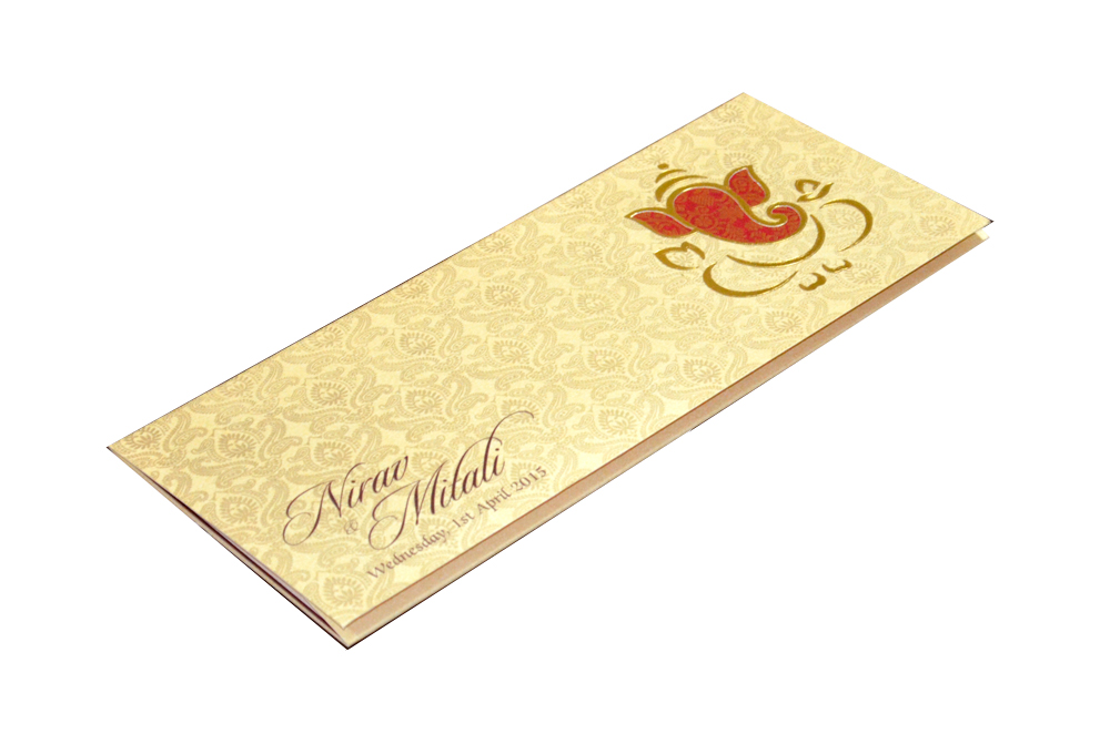Hindu Wedding Card PP 6056 Card