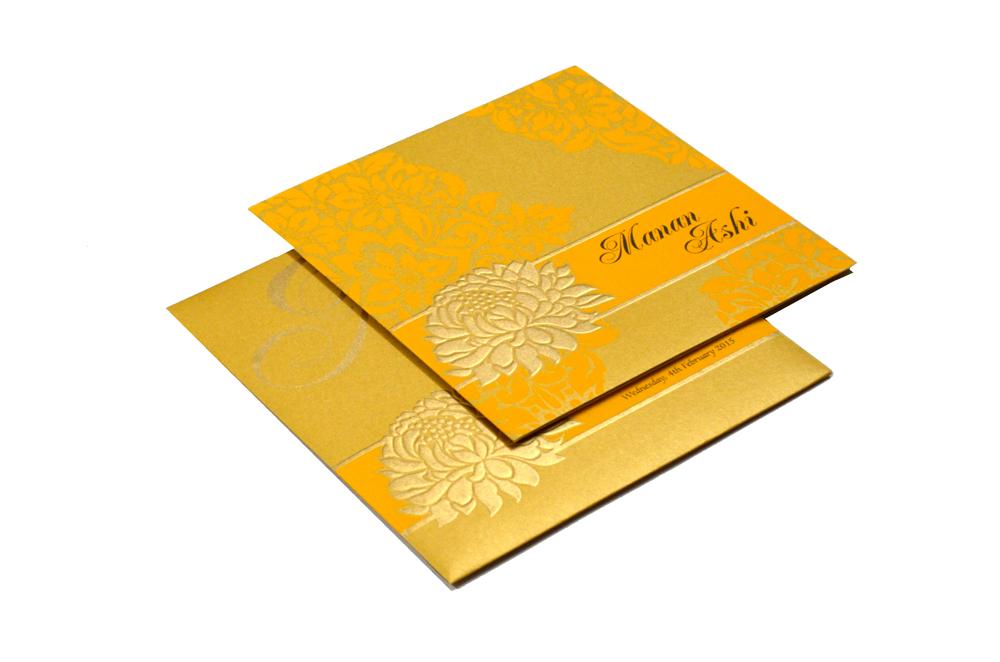 Designer Wedding Card PP 7999
