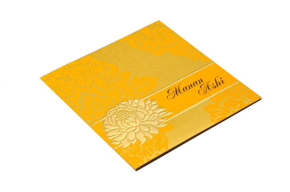 Designer Wedding Card PP 7999 Card