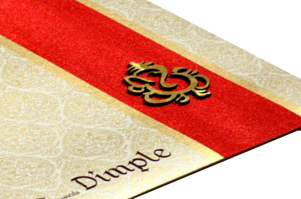 Hindu Wedding Card PP 8001 Zoom View