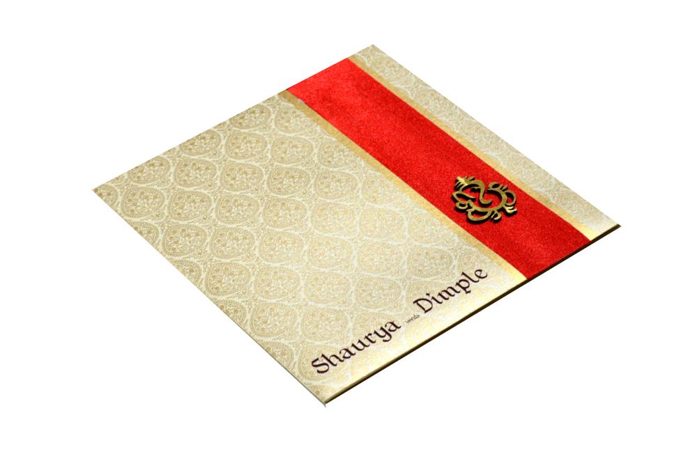 Hindu Wedding Card PP 8001 Card
