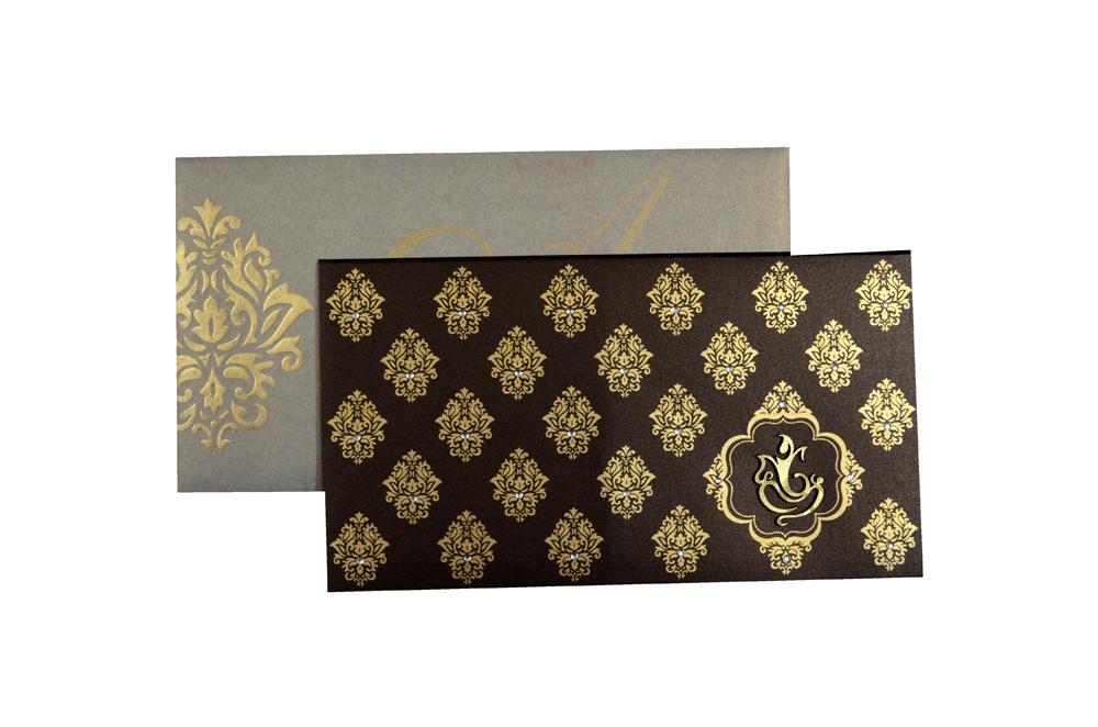 Hindu Wedding Card PP 8094 Top View