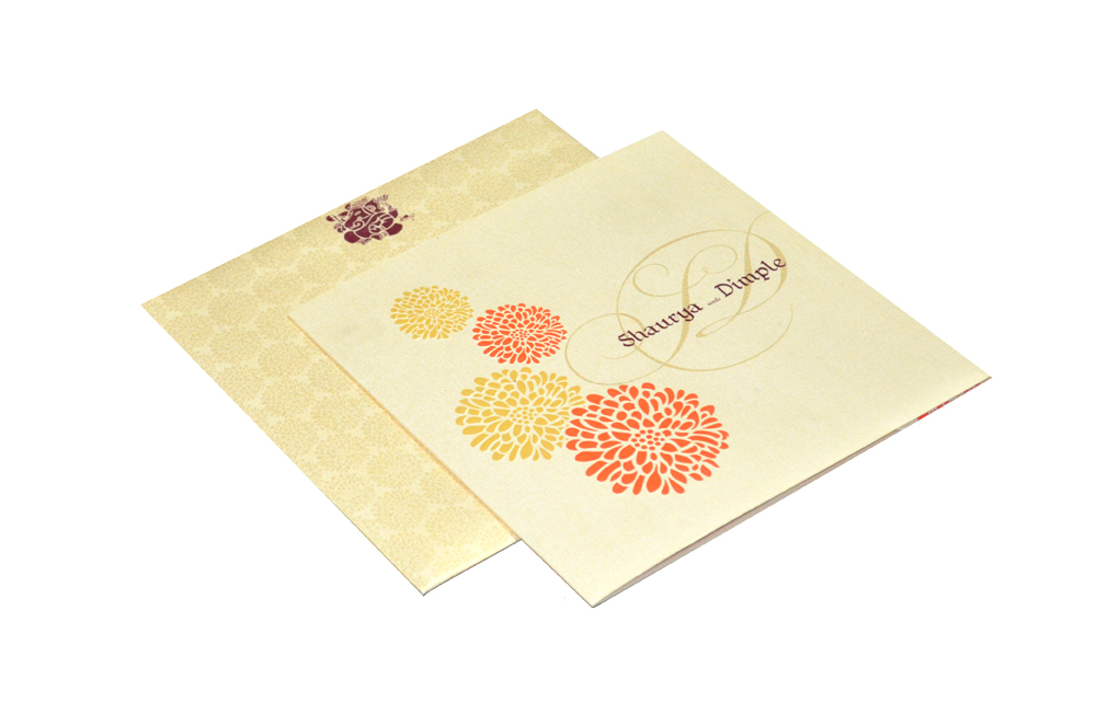Designer Wedding Card PP 8120