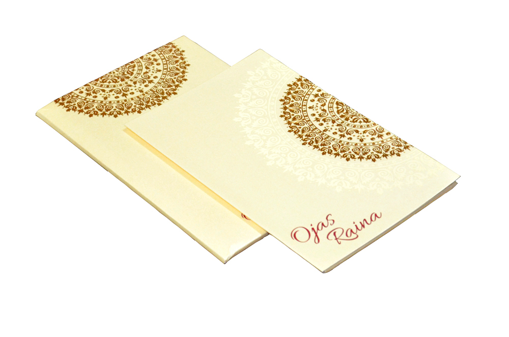 Designer Wedding Card PP 8128