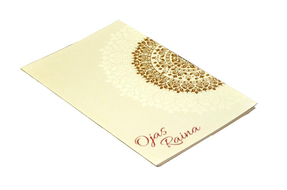 Designer Wedding Card PP 8128 Card