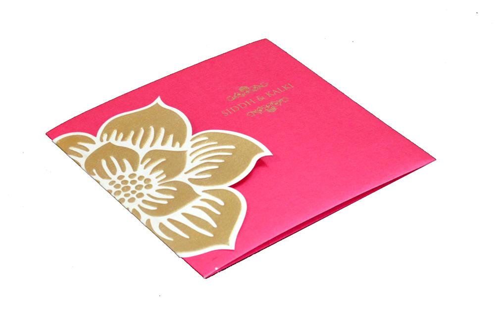Designer Wedding Card PP 8134 Card