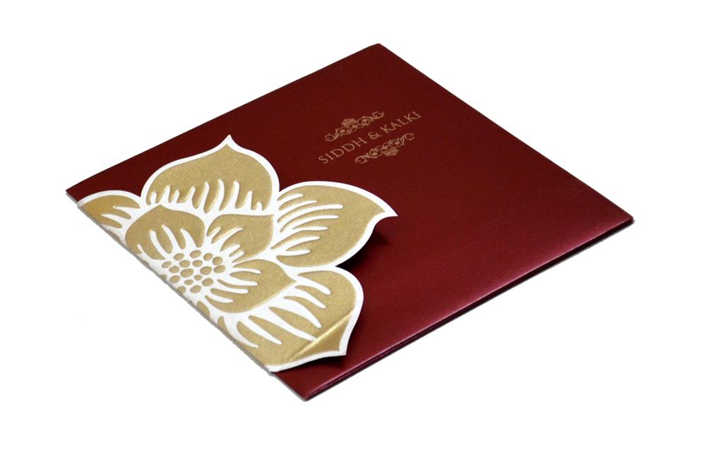 Designer Wedding Card PP 8135 Card