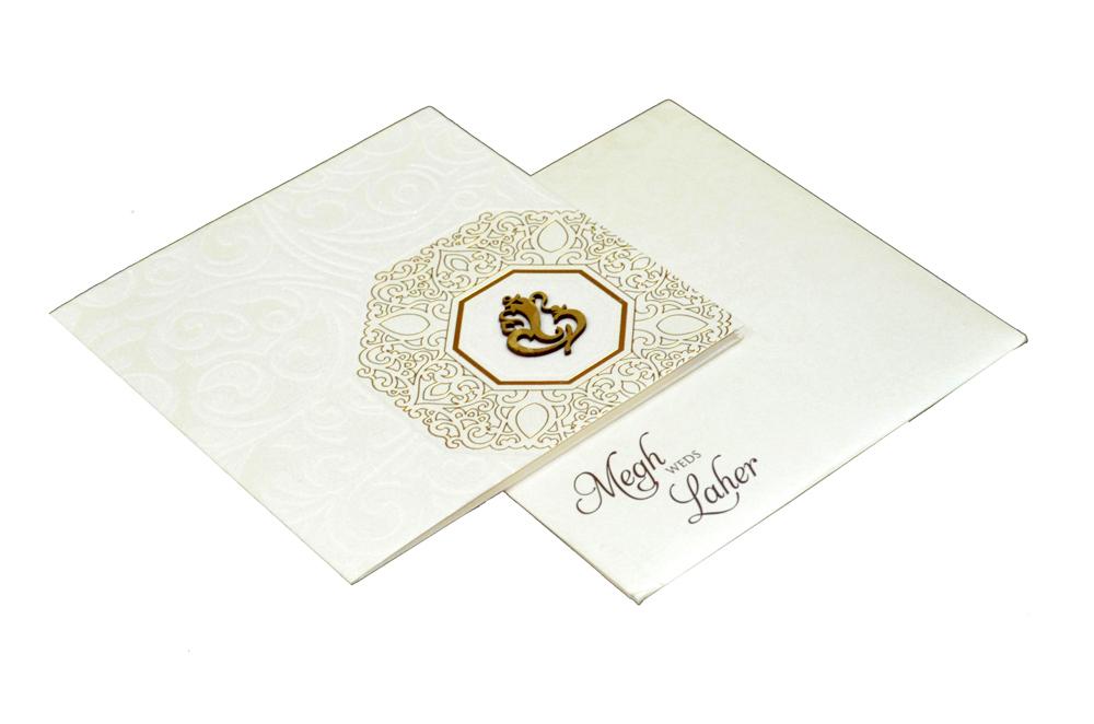 Hindu Wedding Card PP 8136
