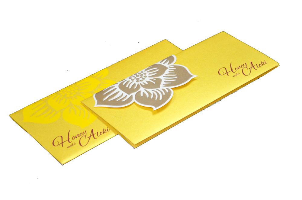 Designer Wedding Card PP 8170