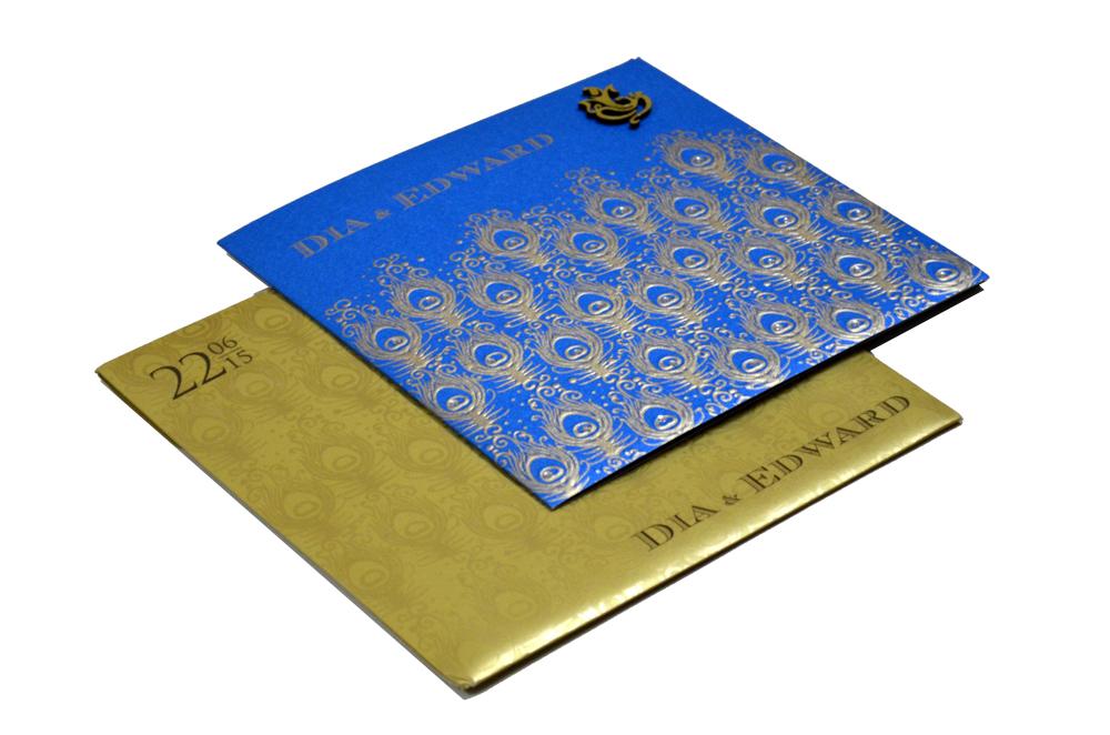Designer Wedding Card PP 8205
