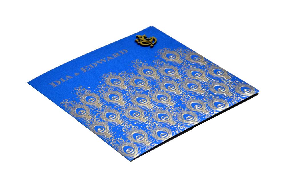 Designer Wedding Card PP 8205 Card