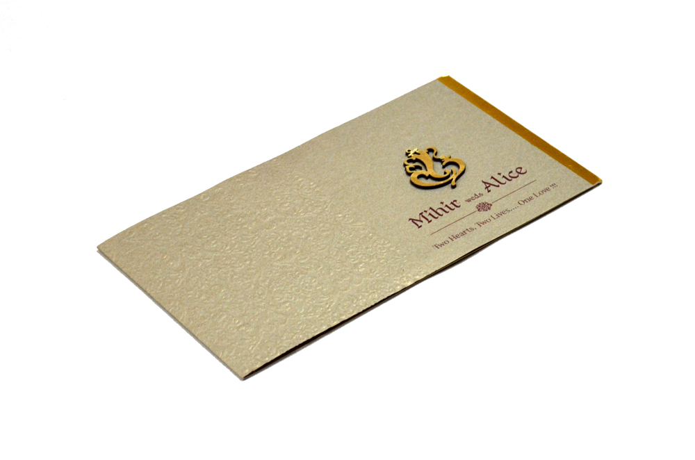 Hindu Wedding Card PP 8209 Card