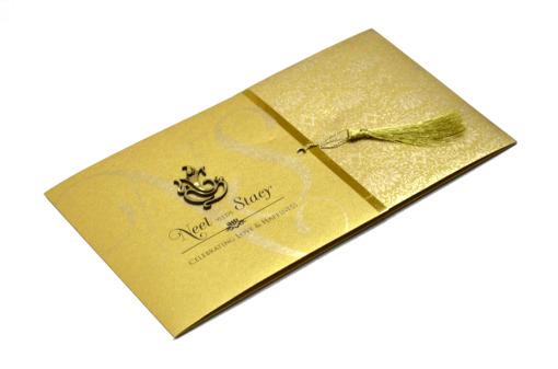 Hindu Wedding Card PP 8211 Card