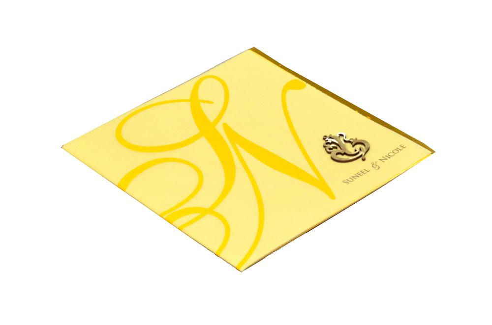 Designer Wedding Card PP 8220 Card