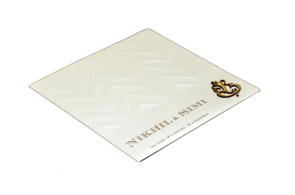 Hindu Wedding Card PP 8239 Card