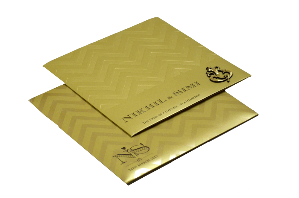 Hindu Wedding Card PP 8240