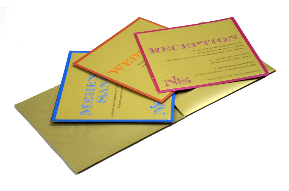 Hindu Wedding Card PP 8240 Inside View 2