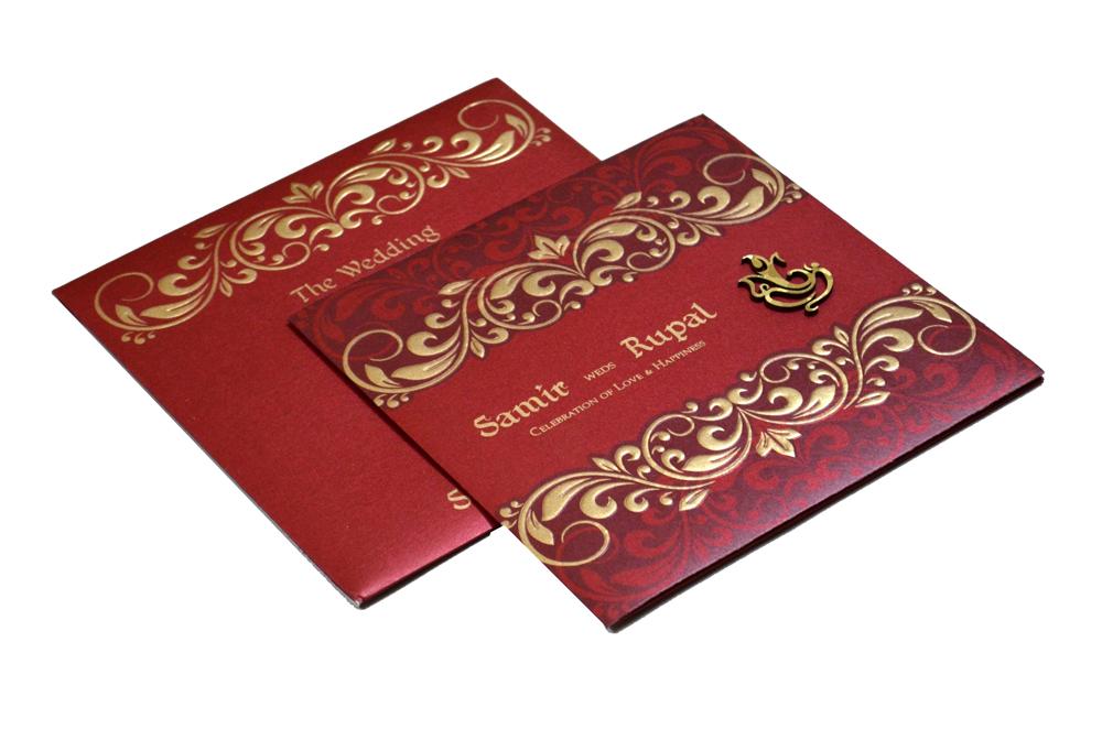 Hindu Wedding Card PP 8270