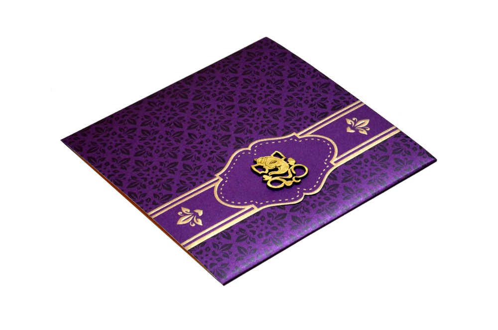 Hindu Wedding Card PP 8284 Card