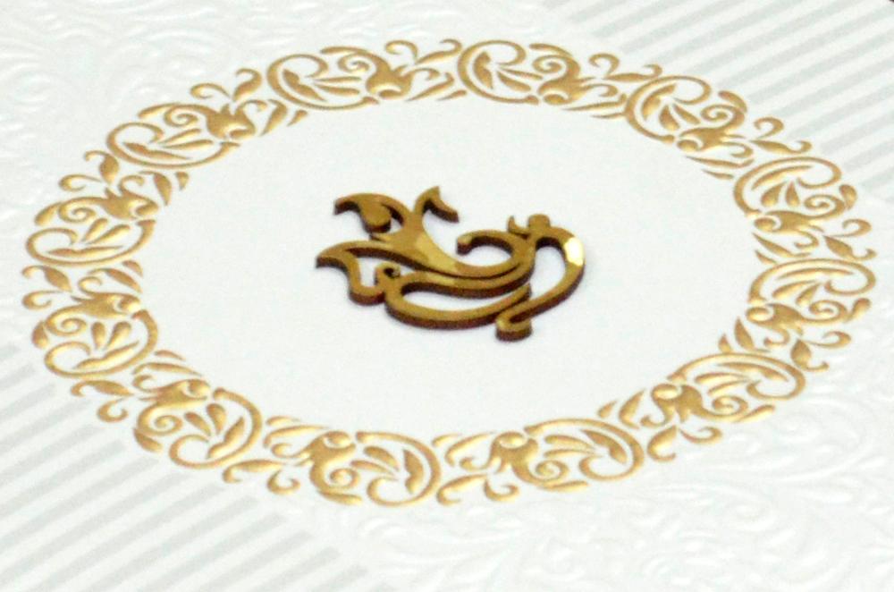 Hindu Wedding Card PP 8292 Zoom View