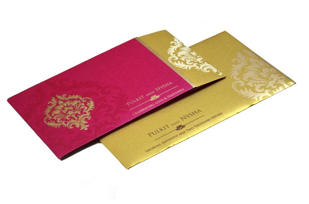 Designer Wedding Card PP 8299