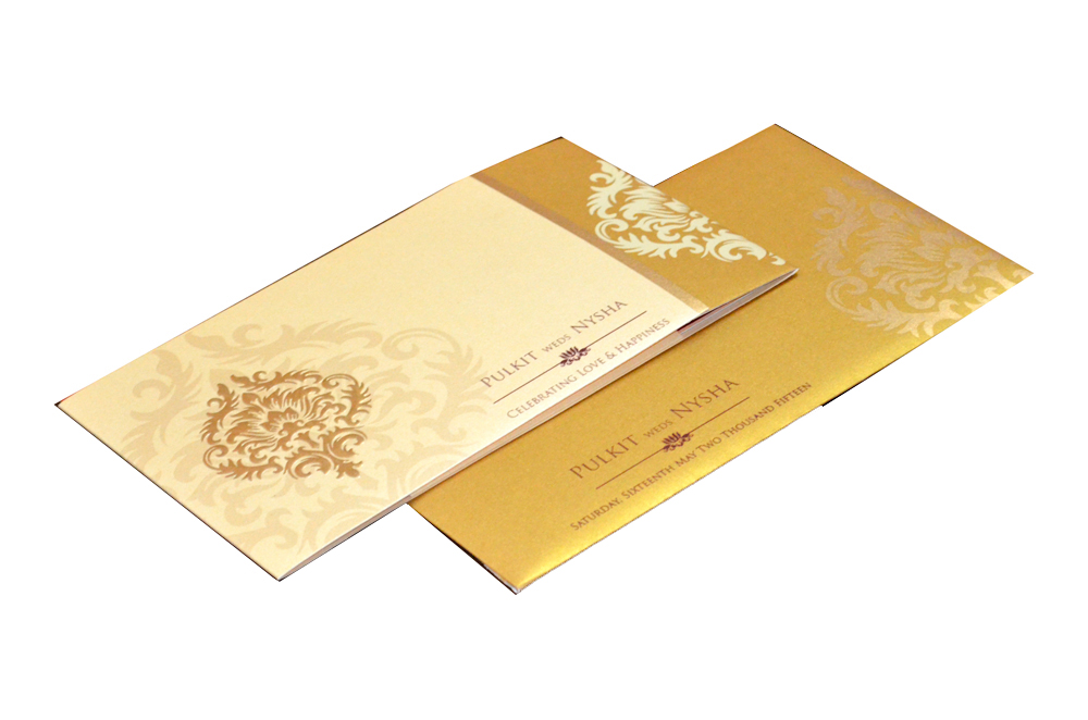 Designer Wedding Card PP 8300