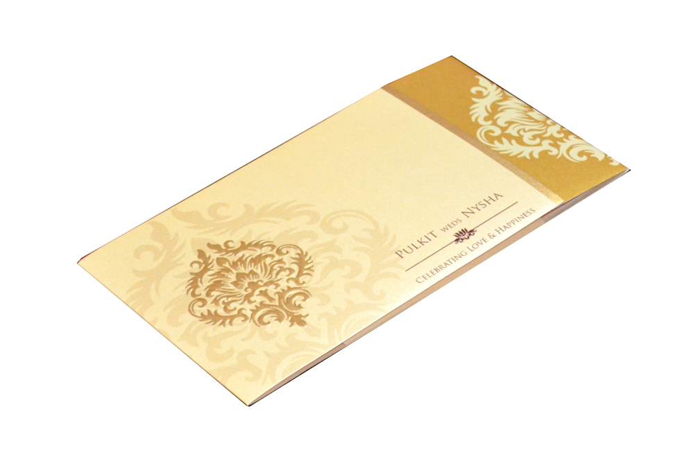 Designer Wedding Card PP 8300 Card