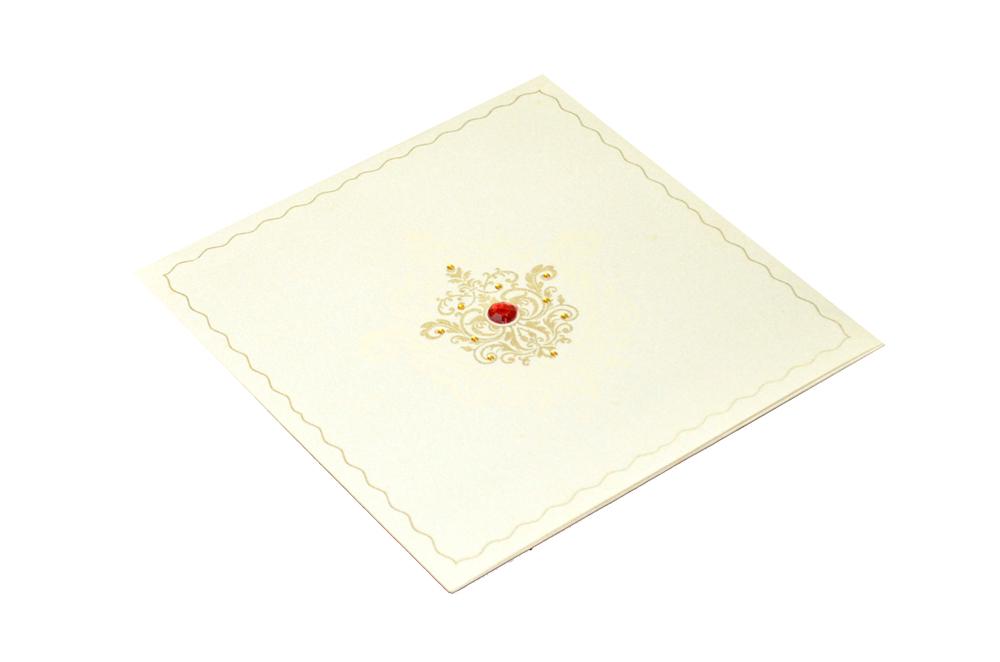 Designer Wedding Card REL 450 Card