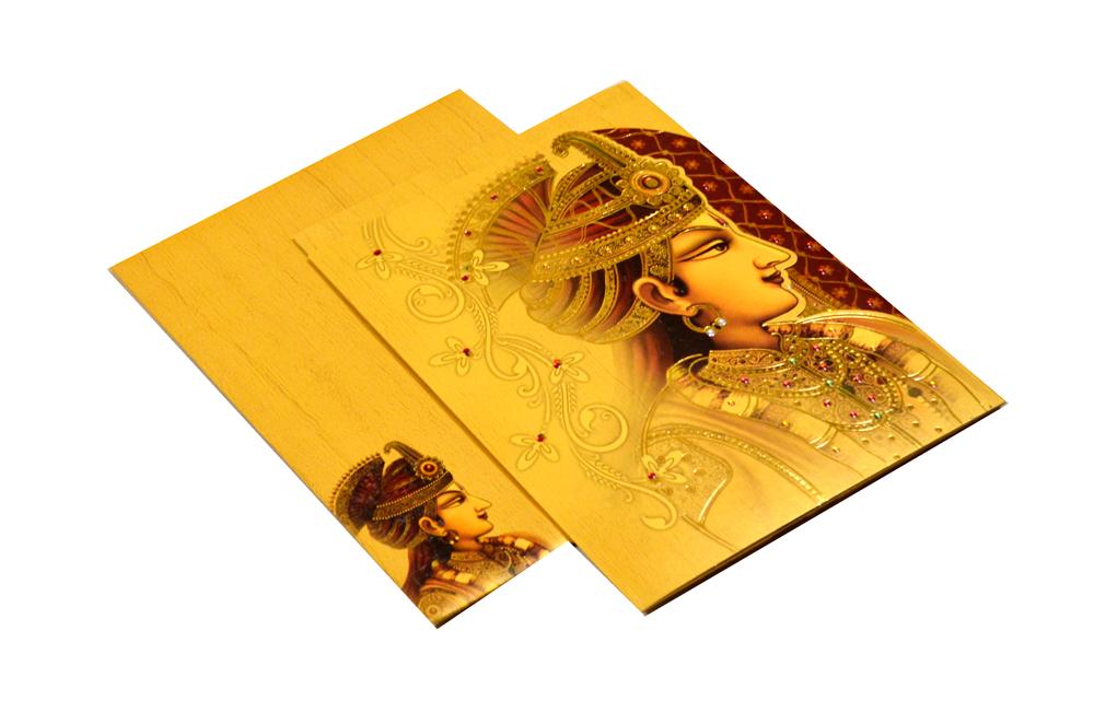 Designer Wedding Card REL 683