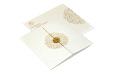 White Hindu Wedding Card REL 785